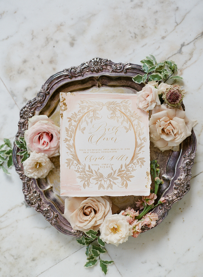 Luxury wedding venues in Italy with complimentary invitations