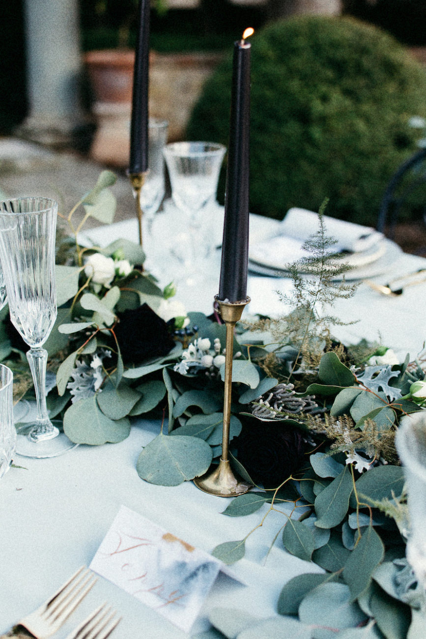 Style Shoot in Tuscany, Italy wedding table decoration ideas