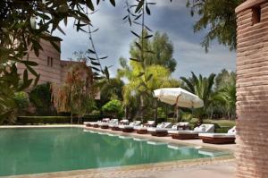 Luxury Wedding in Morocco Villa Al Assala Palmeraie pool