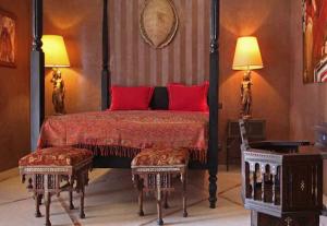 Luxury Wedding in Morocco Villa Marrak bedroom