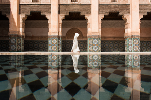 Luxury Wedding in Morocco pool