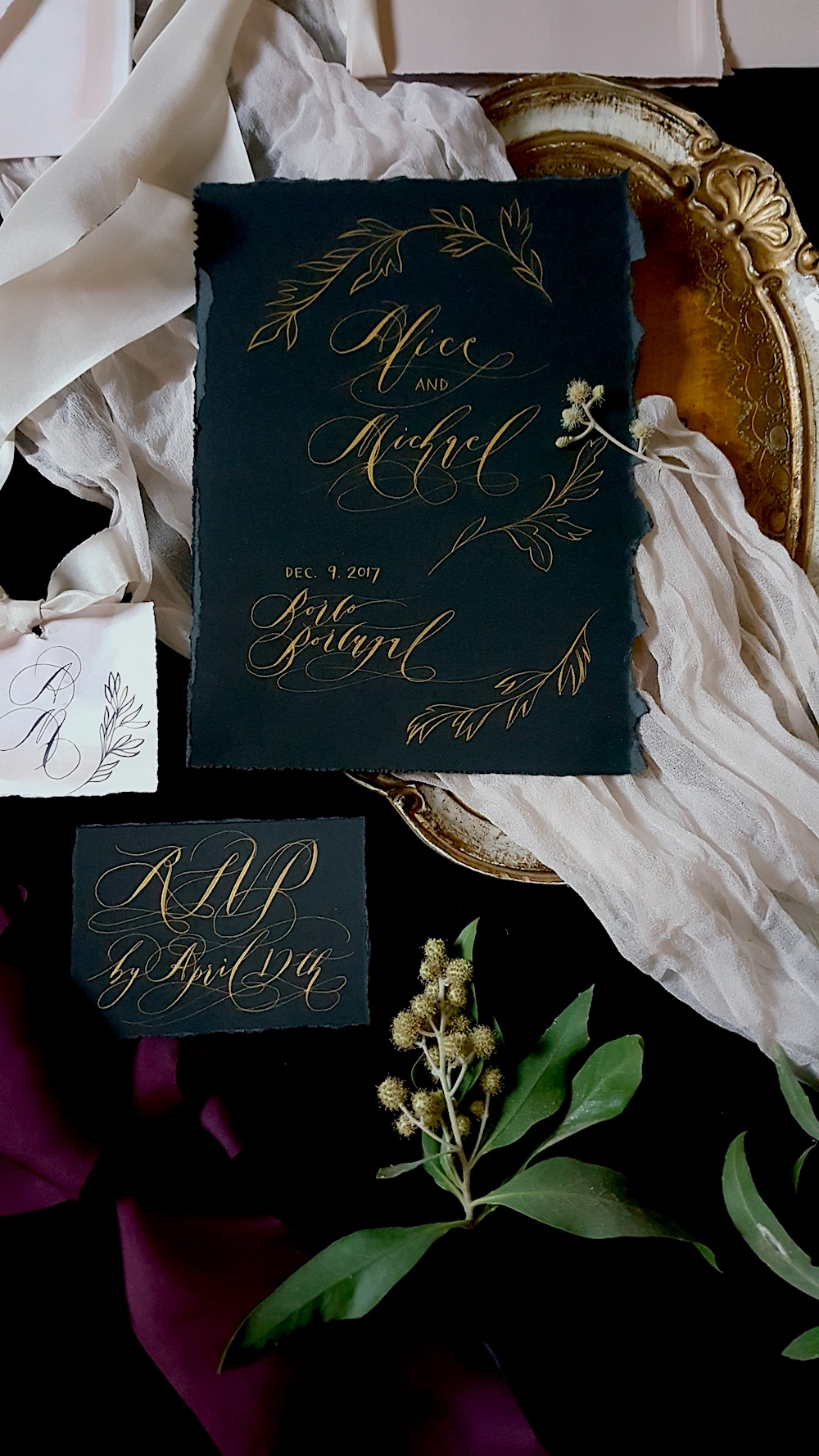Black Tie Party Invitations ONLY FOR LUXURY CLIENTS