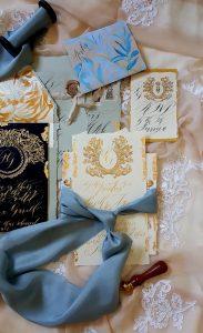 Designer Wedding Invitations_ French style