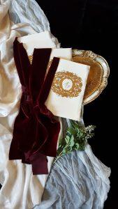 Designer Wedding Invitations_ luxury wedding vow books