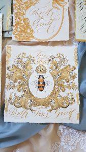 Designer Wedding Invitations_Bee design