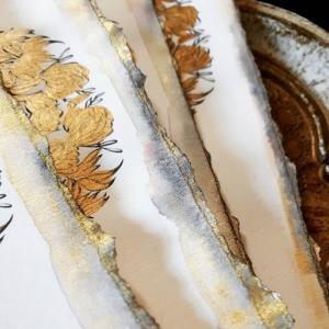 Designer Wedding Invitations_deckled edges