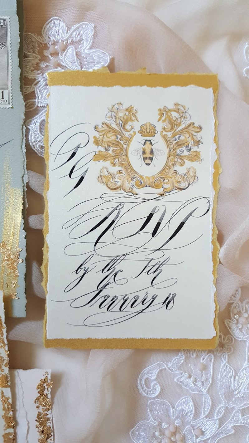 French Wedding Invitations inspired by the prestige of French ...