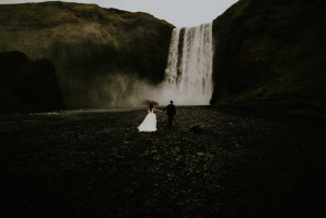 Best Destination Wedding Locations Iceland waterfall