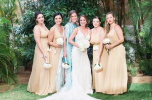 Destination Wedding Locations Aruba bride and bridesmaids