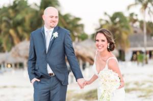 Destination Wedding Locations Aruba bride and groom