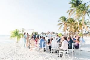 Destination Wedding Locations Aruba wedding on a beach