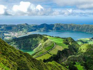 Destination Wedding Locations Azores hills
