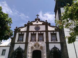 Destination Wedding Locations Azores tall church