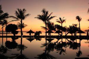 Destination Wedding Locations Bali beach sunset