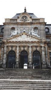 Destination Wedding Locations Chateau Vaux le Vicomte front gates