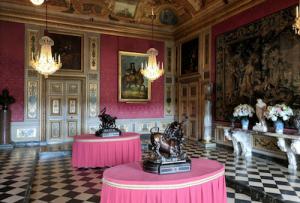 Destination Wedding Locations Chateau Vaux le Vicomte interiors