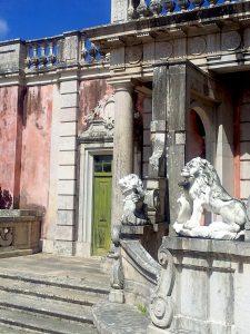 Destination Wedding Locations Queluz Palace back