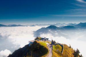 Destination Wedding Locations Switzerland clouds