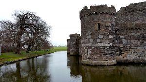 Destination Wedding Locations Wales castle moat