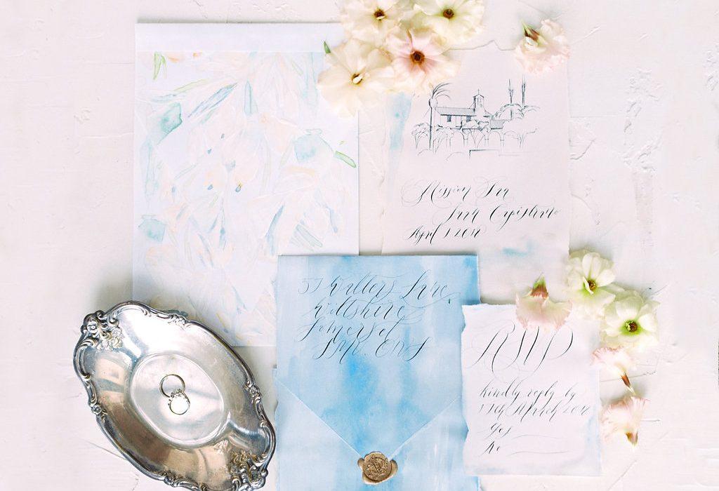 Wedding Stationery Designer paper