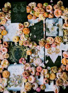 Wedding stationery designer black tie cards