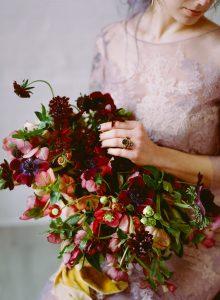 Wedding stationery designer flowers