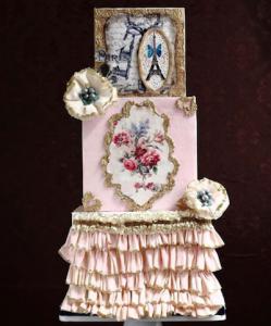 luxury wedding cake designers eclectic pink cake
