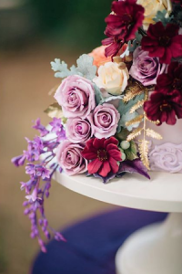 5 wedding cake designers pink sugar flowers