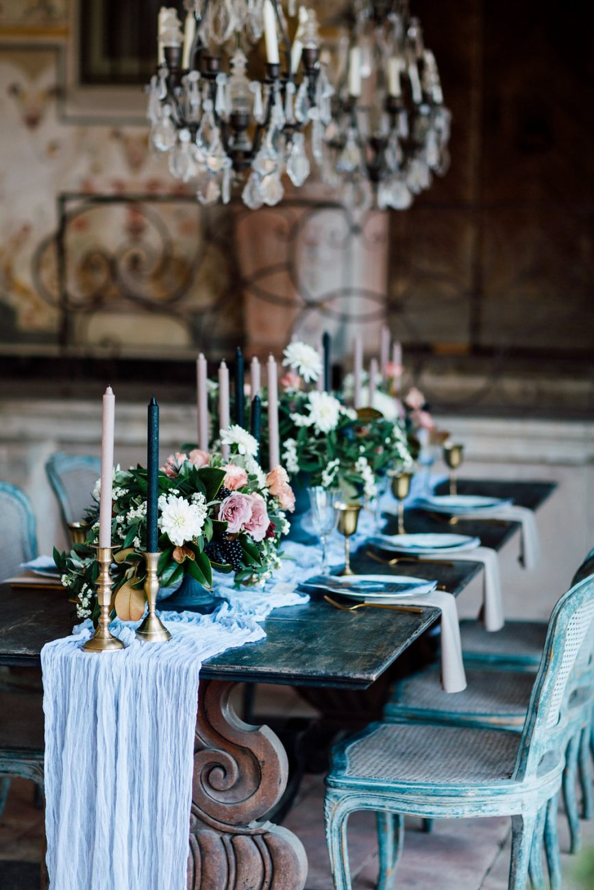French Wedding Inspiration full table