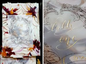 Latest Wedding invitation trends for 2019 Acrylic designs