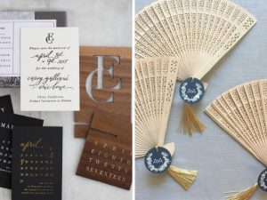 Latest Wedding invitation trends for 2019 creative