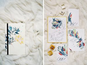 Latest Wedding invitation trends for 2019 watercolour wedding invitations