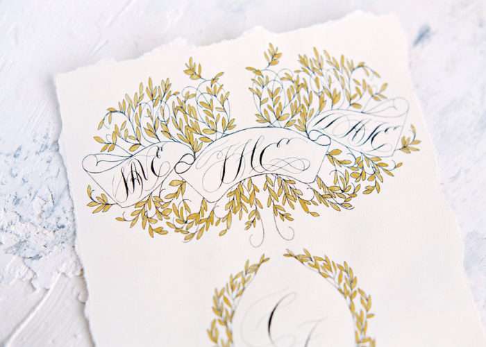 Pricing for hand painted wedding invitations