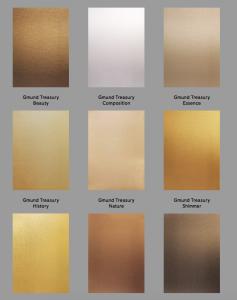Invitation Glossary Gold Treasury paper