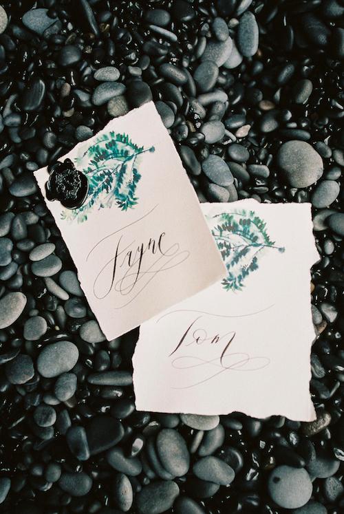 Luxury Handmade Wedding Invitations place names copy