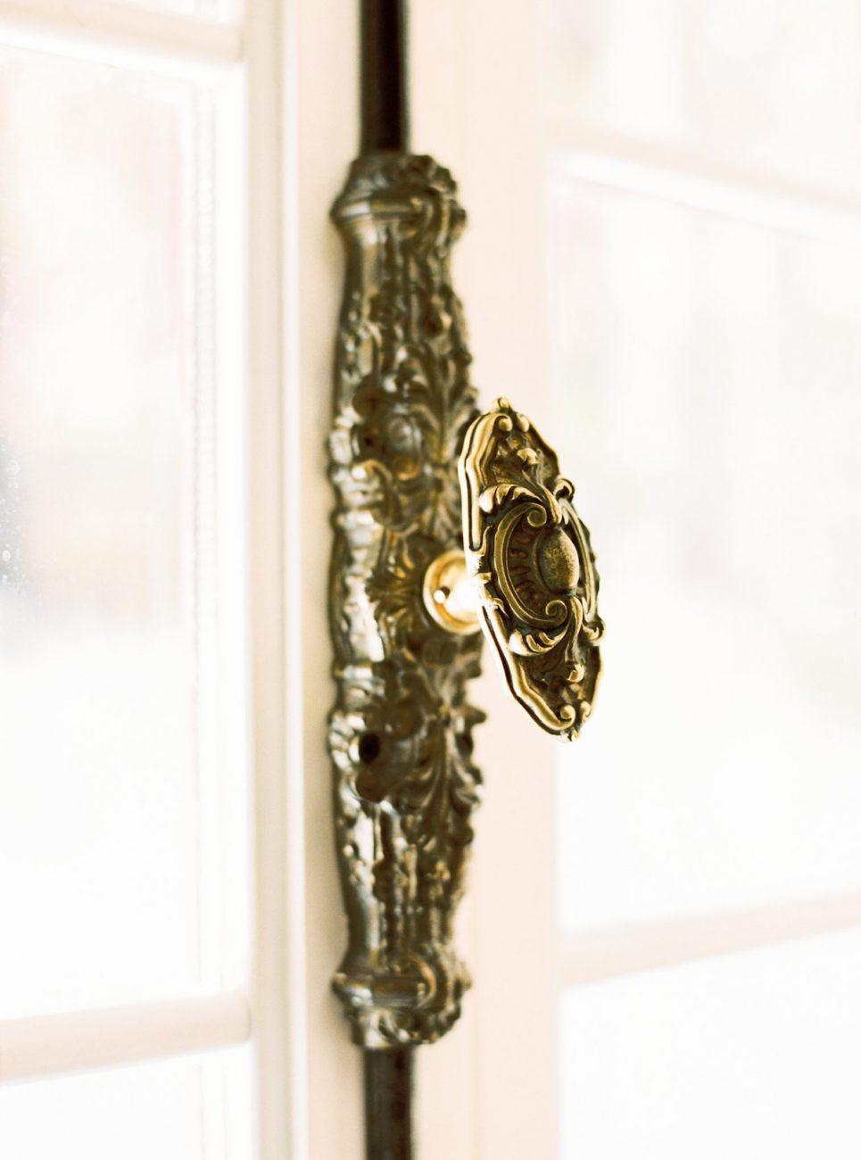 Palace Wedding Inspiration - antique door knob