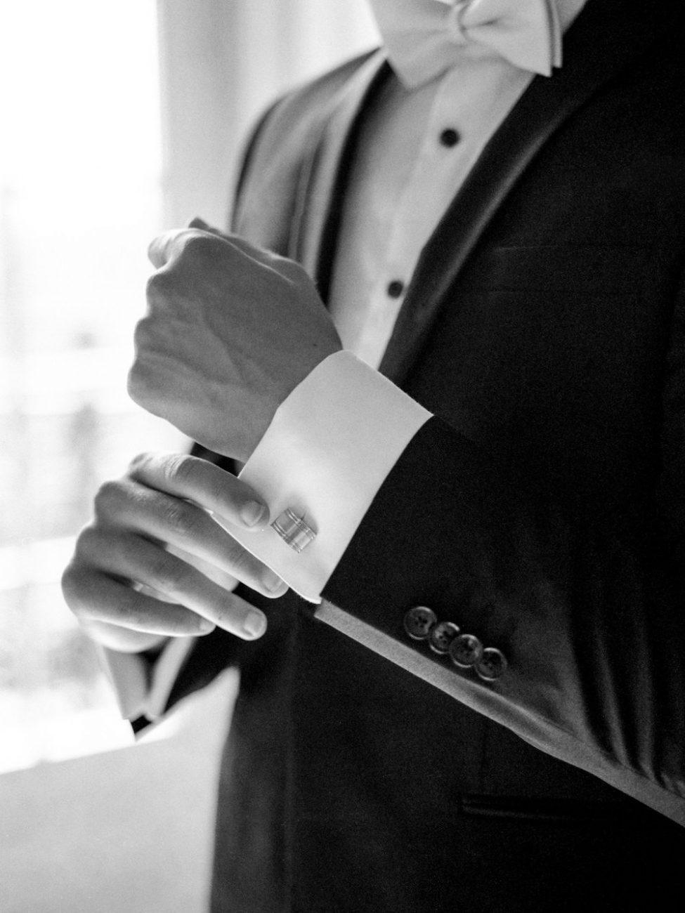 Palace Wedding Inspiration groom's details