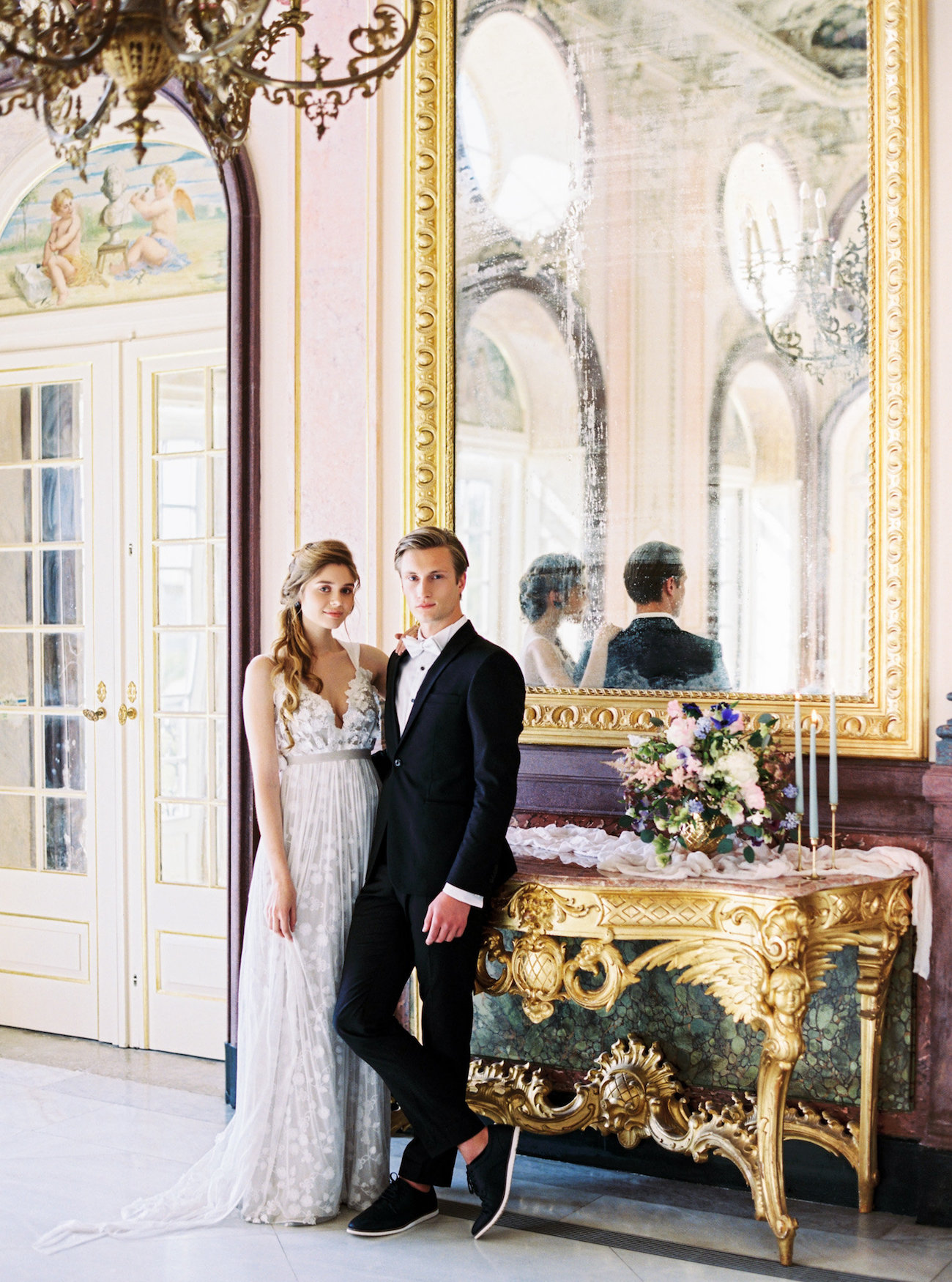 Wedding Style Shoots in a palace