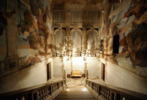 20 Luxury Wedding Venues in Italy Ca Sagredo breathtaking stairs view