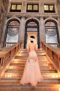 20 Luxury Wedding Venues in Italy Ca Sagredo entrance