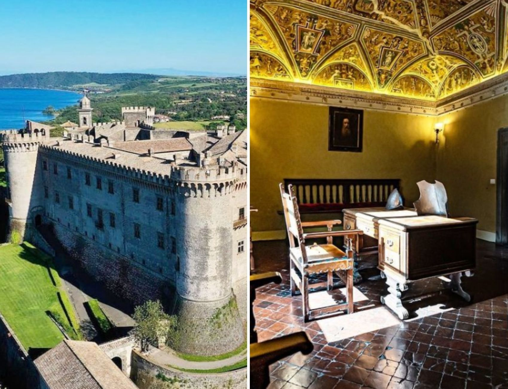 Castello Bracciano for weddings and events in Italy