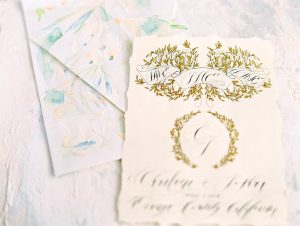 Painted Envelopes blue