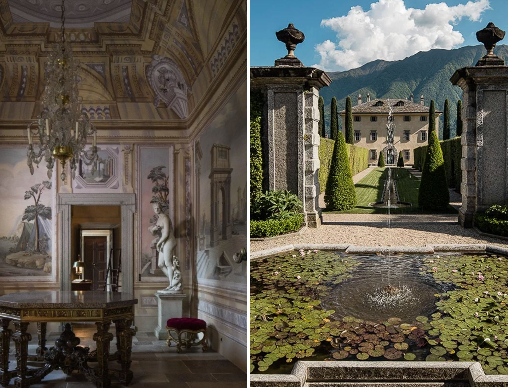 Villa Balbiano, luxury wedding venue at Lake Como