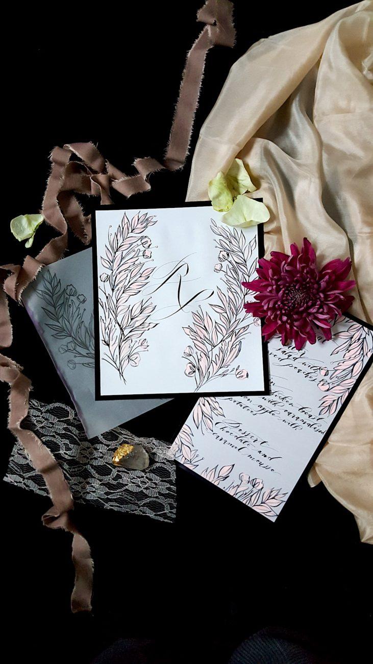 Fine Art Wedding Invitation