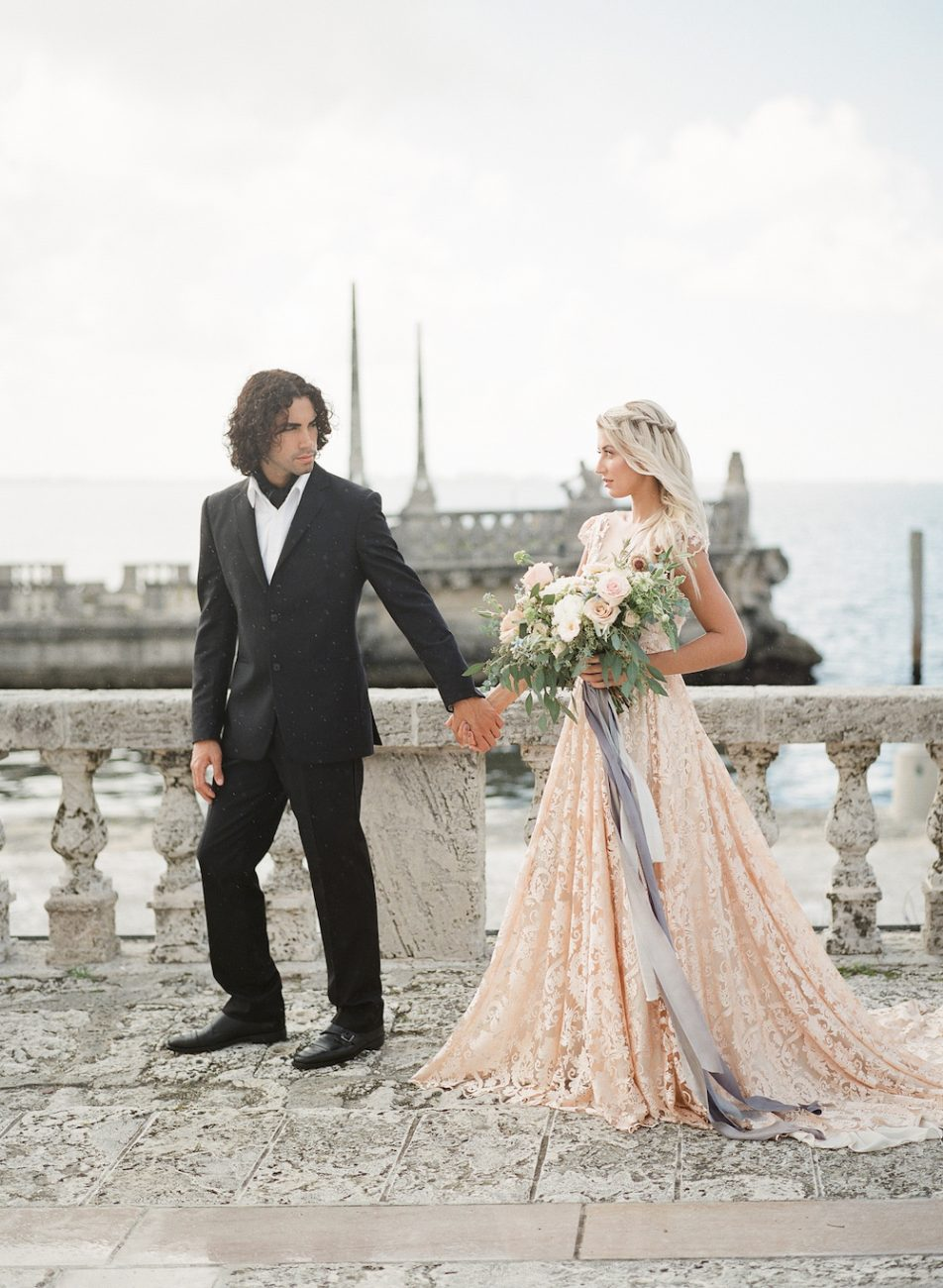 Handwritten Calligraphy Wedding couple in Vizcaya