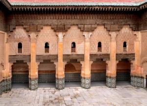 Luxury Wedding in Morocco Villa Dinari tile feature