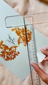 11 Easy Steps Luxury Envelopes (hand painted) tutorial_tearing paper