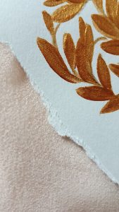 11 Easy Steps Luxury Envelopes (hand painted) tutorial_torn edges ready