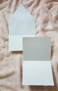 11 Easy Steps Luxury Envelopes (hand painted) tutorial_two pieces template