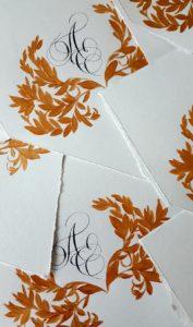 Luxury Envelopes (hand painted) tutorial final envelope flaps
